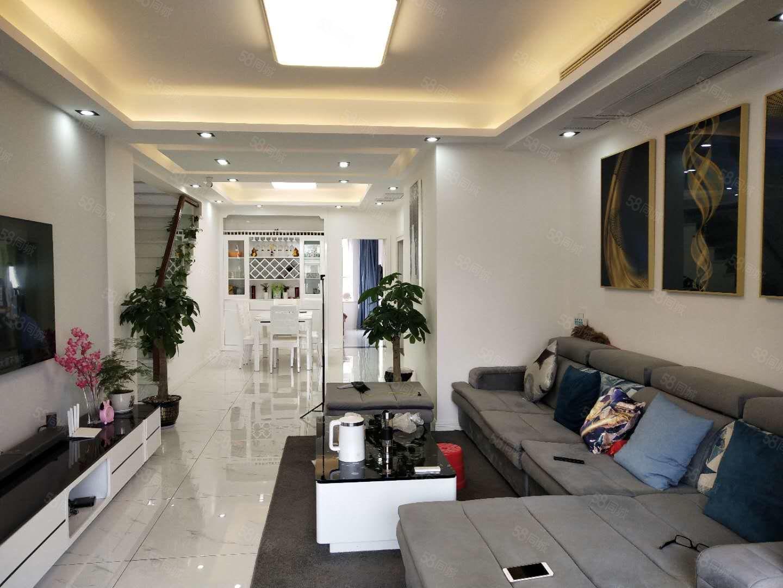 花滩国际马赛庄园豪装洋房,全新家装,品牌家私家电