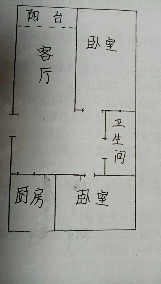 邓码4楼84平毛坯现房证齐可贷款45万