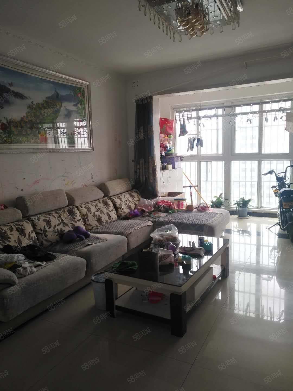 两淮新城中华园精装大3室,南北双阳台,有证可贷款看房方便