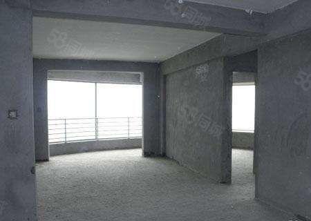 市府雅苑好樓層124毛坯三室送車庫
