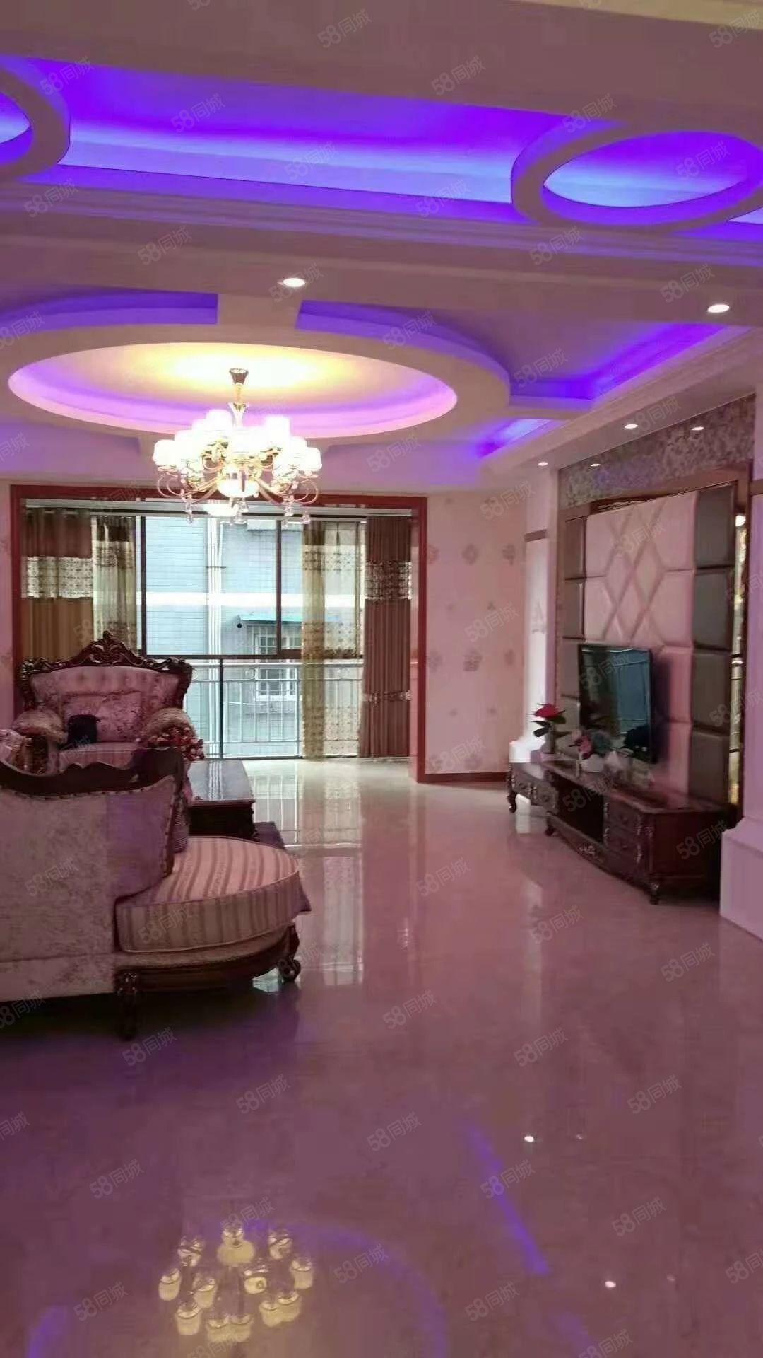 急售多層豪裝現澆房,3個超大陽臺,視野無敵可看渠江。