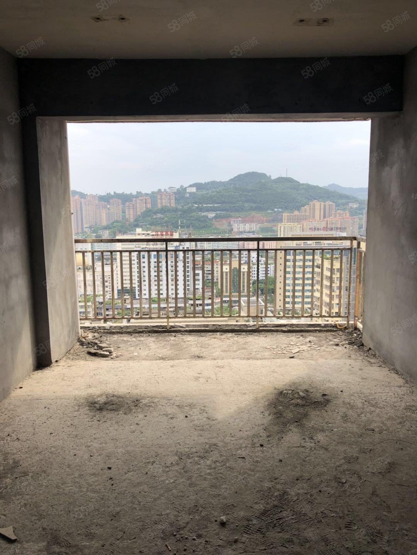 鸟瞰全城江北宏鼎公寓电梯两房性价比超高需全款