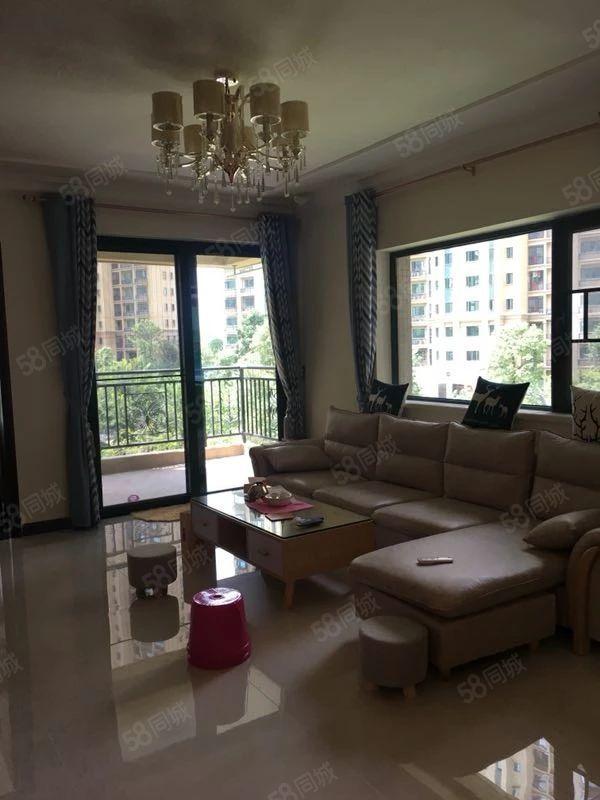 恒大城三期3楼102平方3房2厅1卫精装修未入住售80万