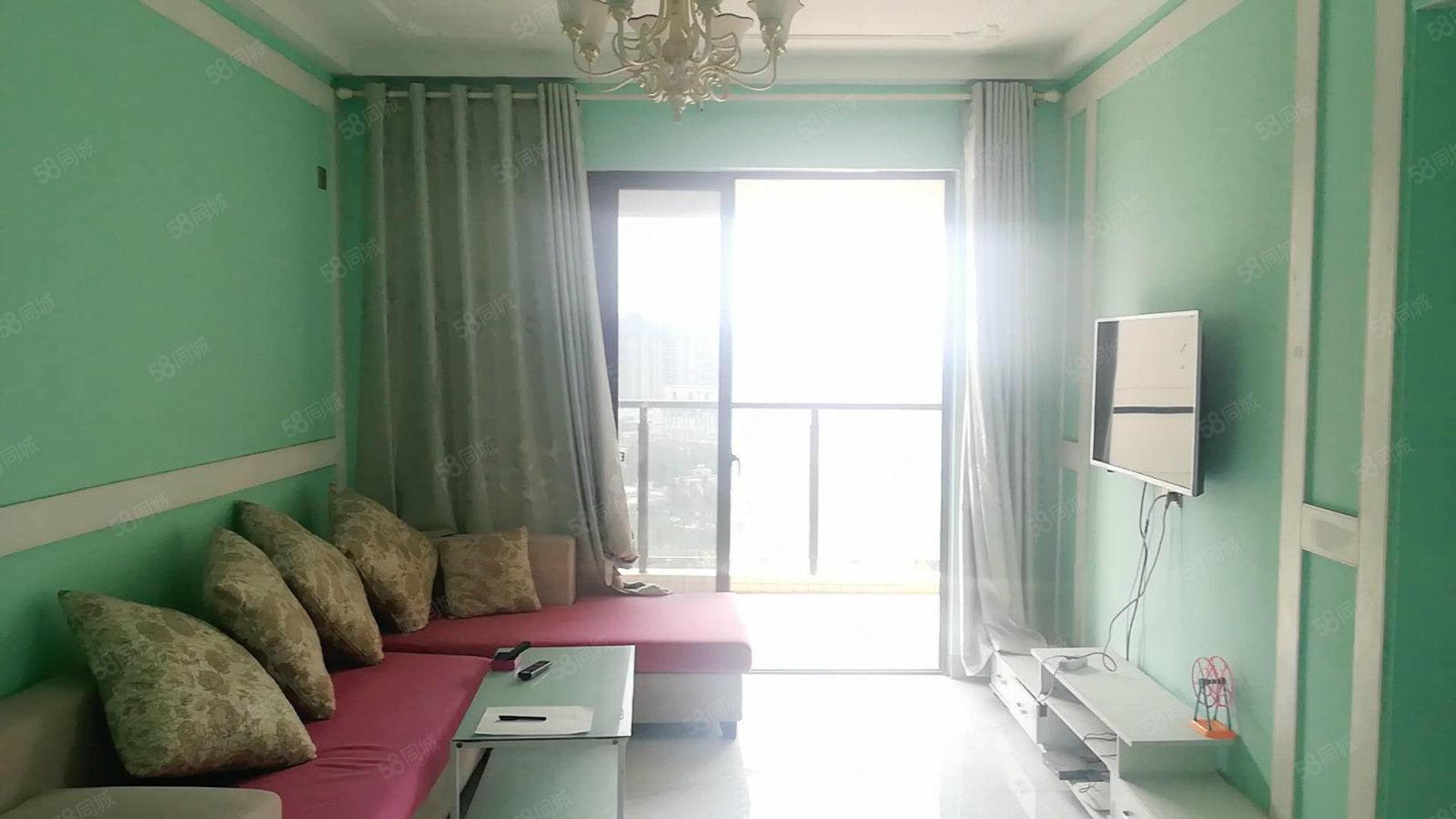 澄迈老城软件园周边大同南海馨居1房2厅1300半年可租