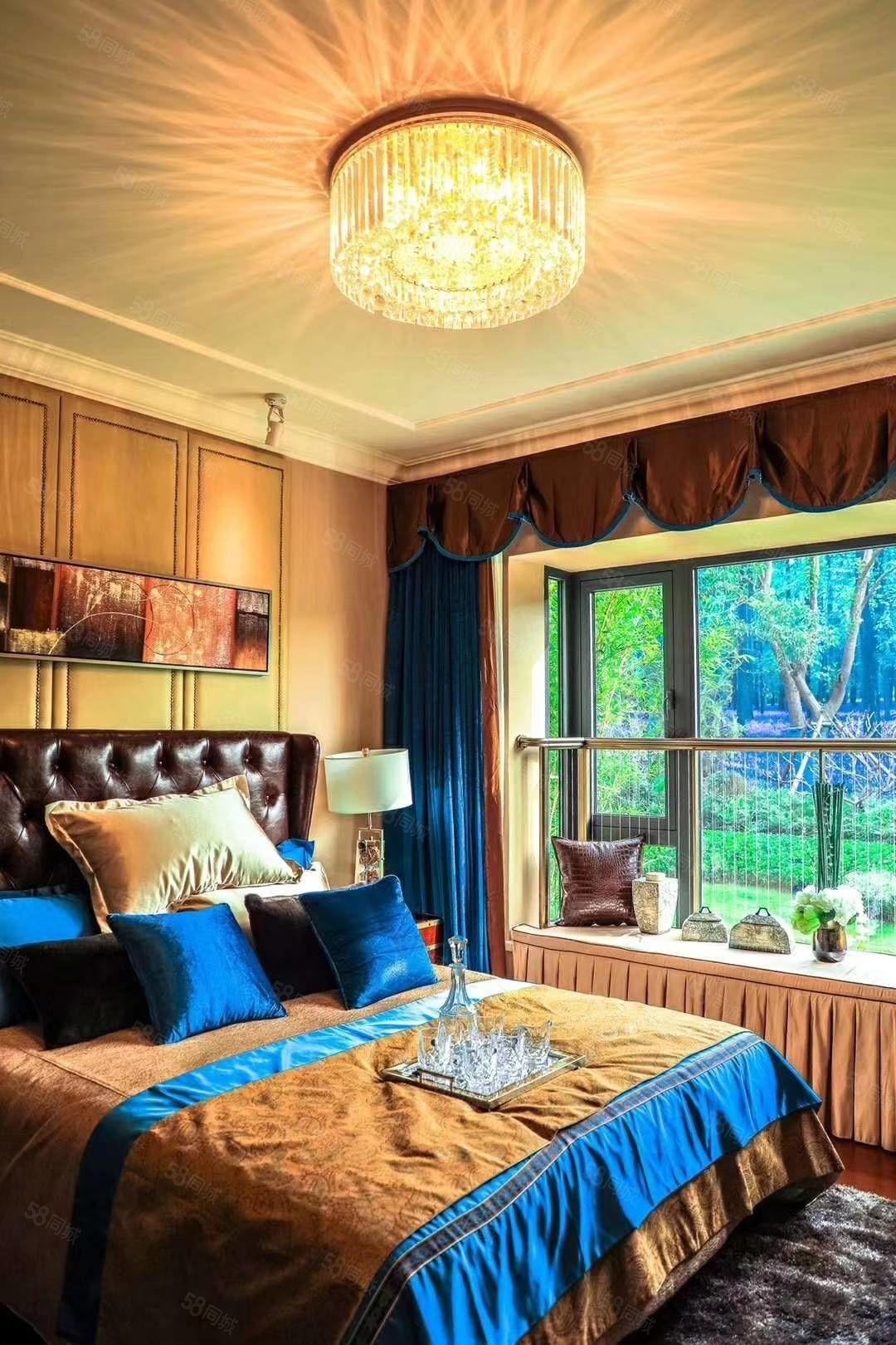 秦汉新城,恒大文化旅游城,精装修湖景房三室两厅两卫