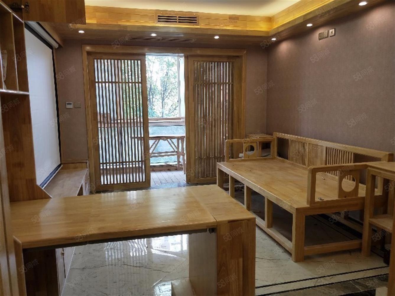 18万豪华装修实木家具中央空调地暖品牌家具家电双满