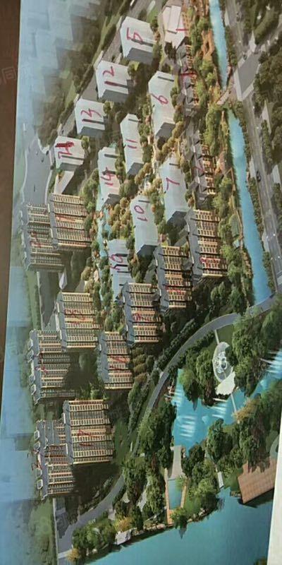 出售金港华府6楼观景房,143平双阳台,三室向阳,首付28万