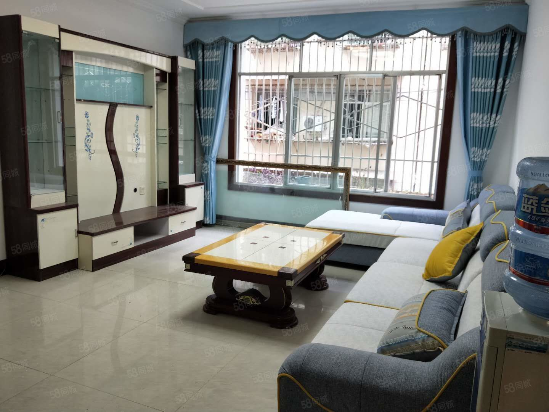 城市中央南門口紫荊花園精裝修3室拎包入住