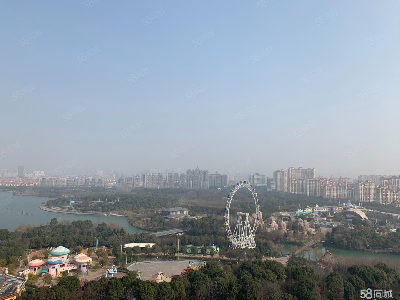 吾悦华府湖景房89平新空房满两年