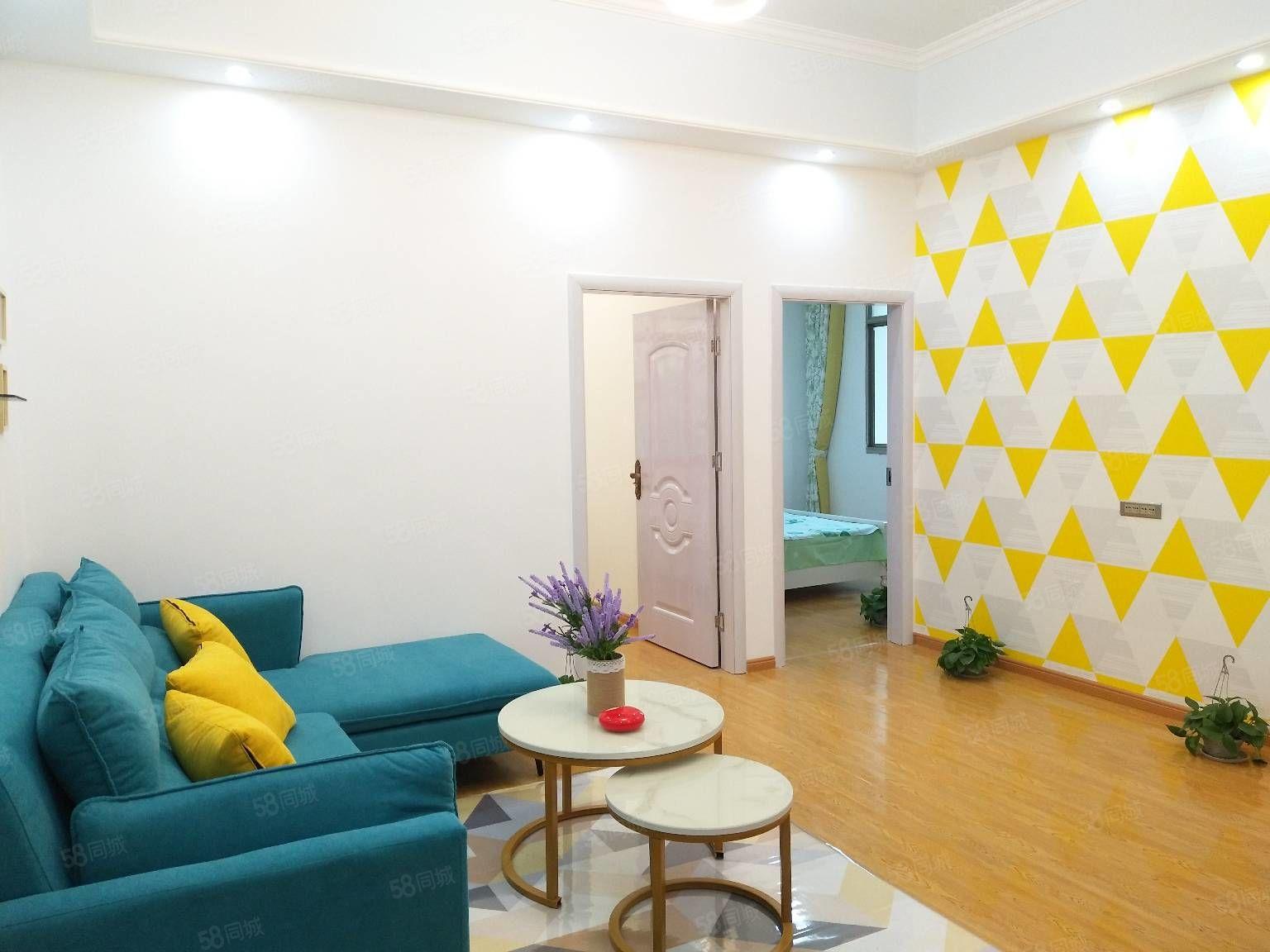 西�T二中和萍��附小�W位房,金祥公寓3室2�d1�l,全新�b修。