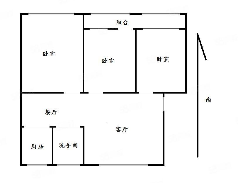 黄2渤19三居室拎包入住随时看房