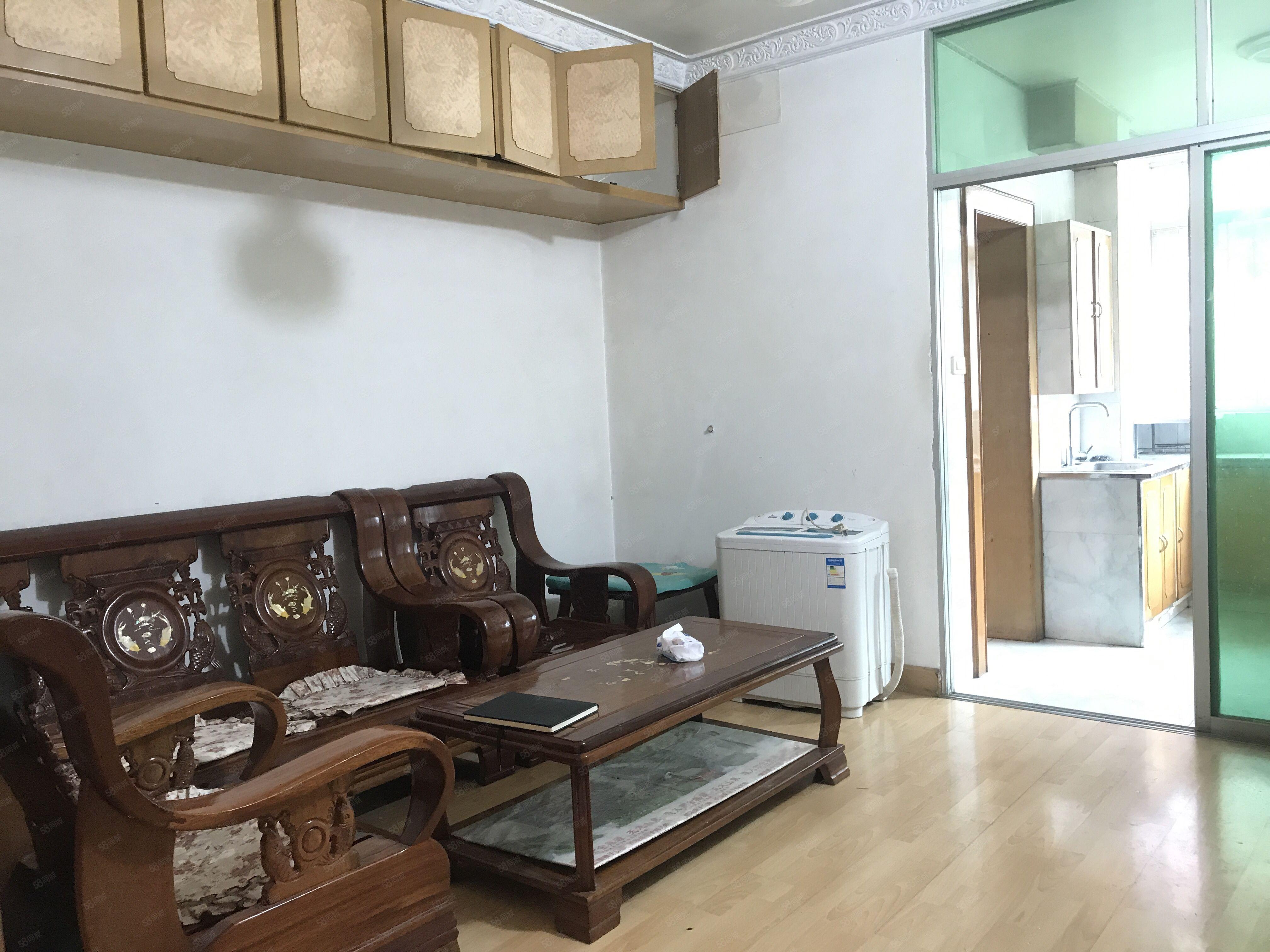 香港路航天六区步梯三楼标准两室两厅户型方正老证