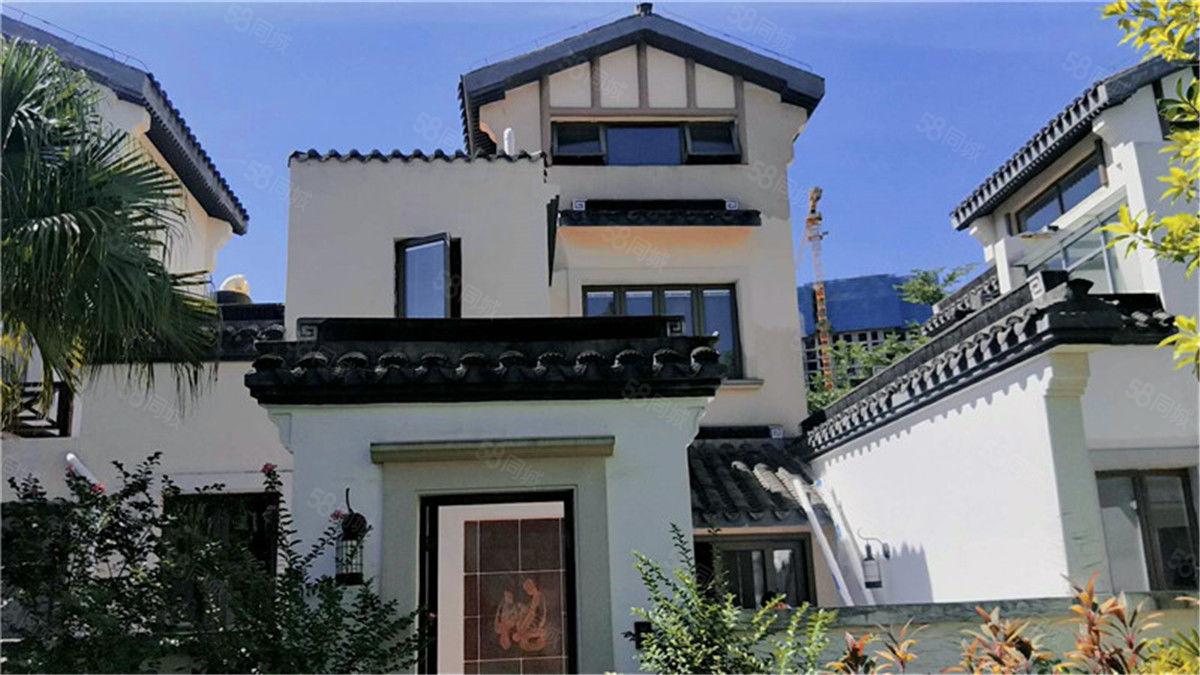 西海岸盈滨半岛度假区,远洋联排别墅出售,使用面积360平方
