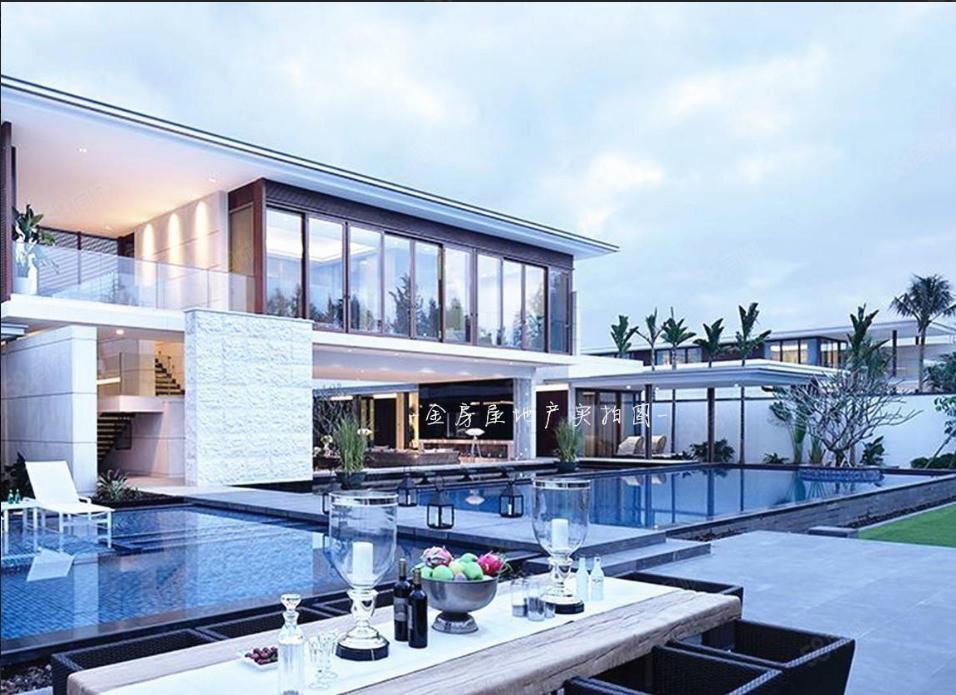 親海玻璃小別墅(智匯城)獨特星空泳池,私密性好,養生度假好房