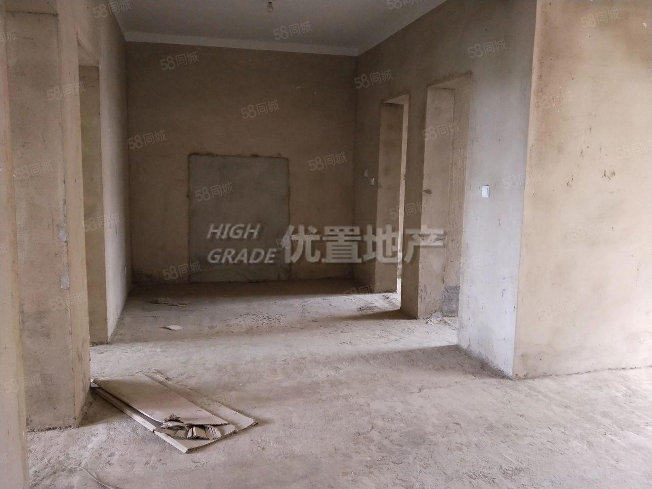 造纸厂毛坯2室步梯3楼采光好户型方正有钥匙看房方便