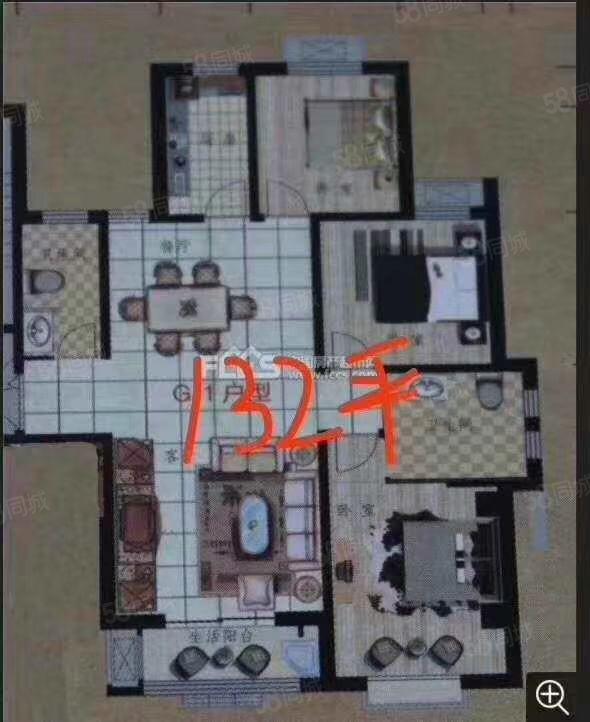 融城国际A区准现房好楼层无绑定,首付低,手续稳。可贷款。