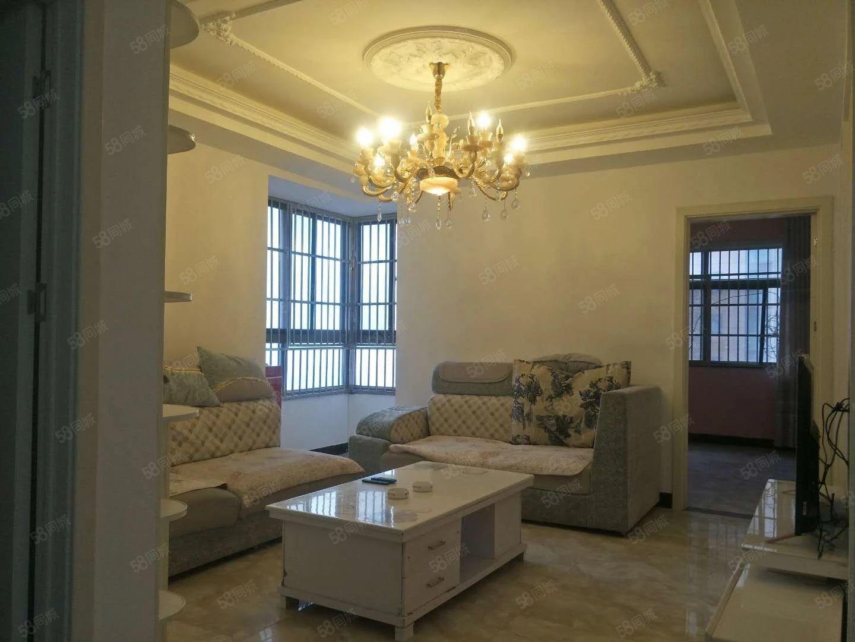 晶宫未来城中装好房出租三室两厅1500一个月付三押一