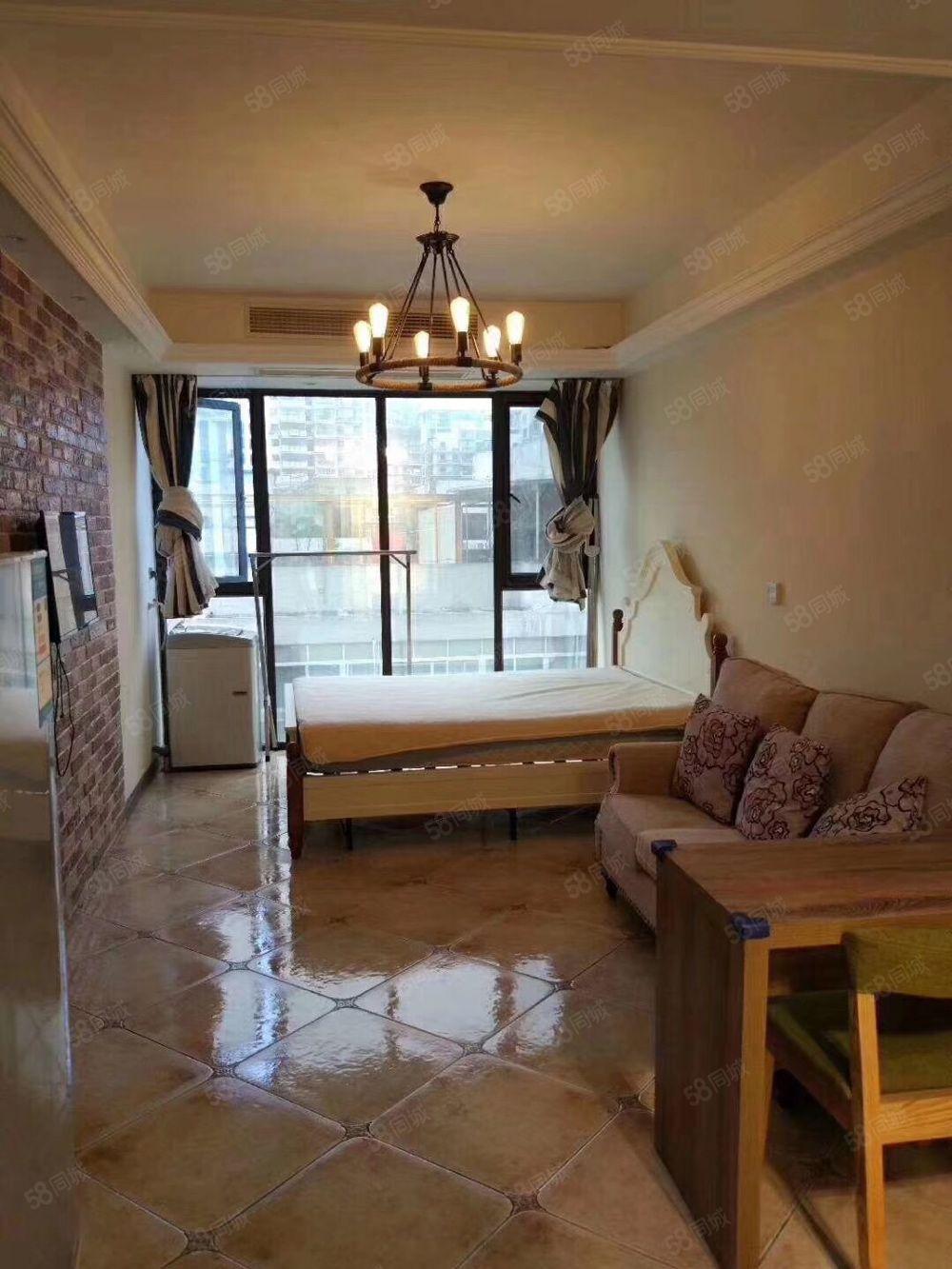 新城东欧智库酒店式公寓楼24小时专人看管月1550至2500