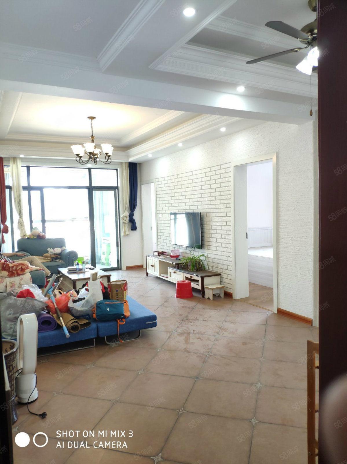 六完小旁盛世名城小区精装2室直接拎包入住全家具家电