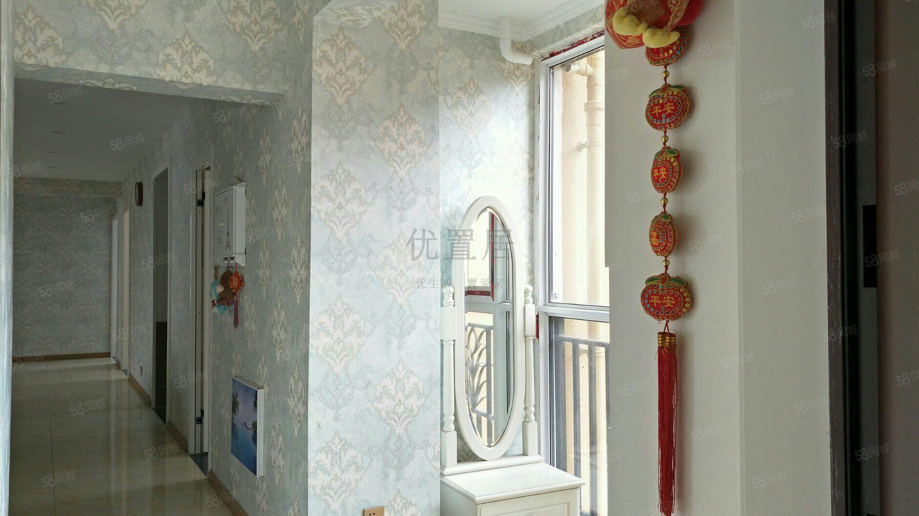中航尚街三室两厅精装拎包入住南北通透看房方便