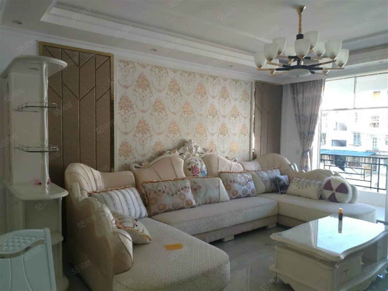 一品天下丽园江景5楼精装修四室带休闲厅可按揭小区中庭