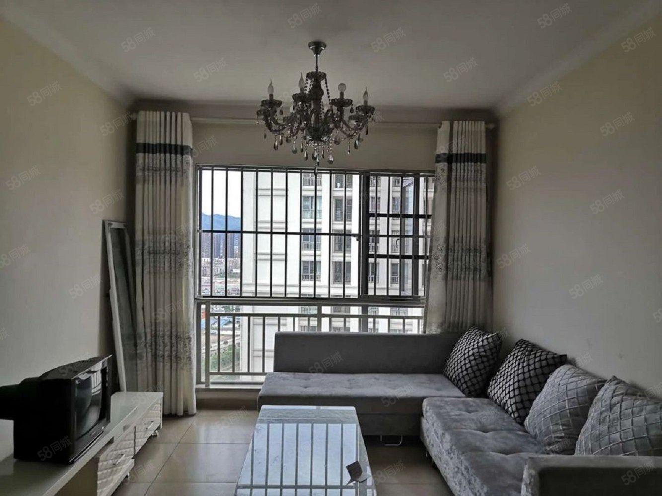 湖畔之城精装修带家具家电澳门金沙平台拎包入住三室