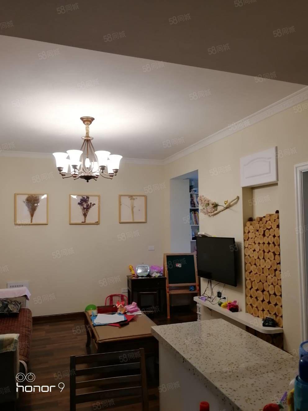 阳光城二室二厅一卫,精装修,视线佳阳光无敌好,带柴间