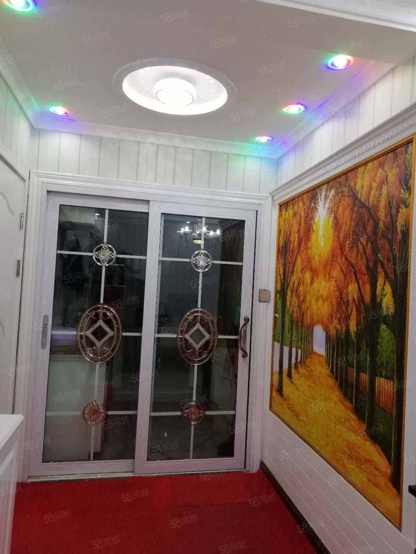 此房能辦貸款濱河景苑94平米精裝修帶家具家電陽面房明衛,