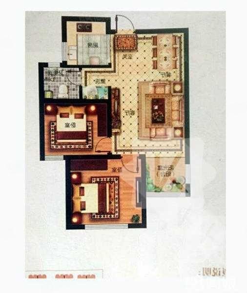 急卖这几天华侨城二期经典小两室好楼层无遮挡