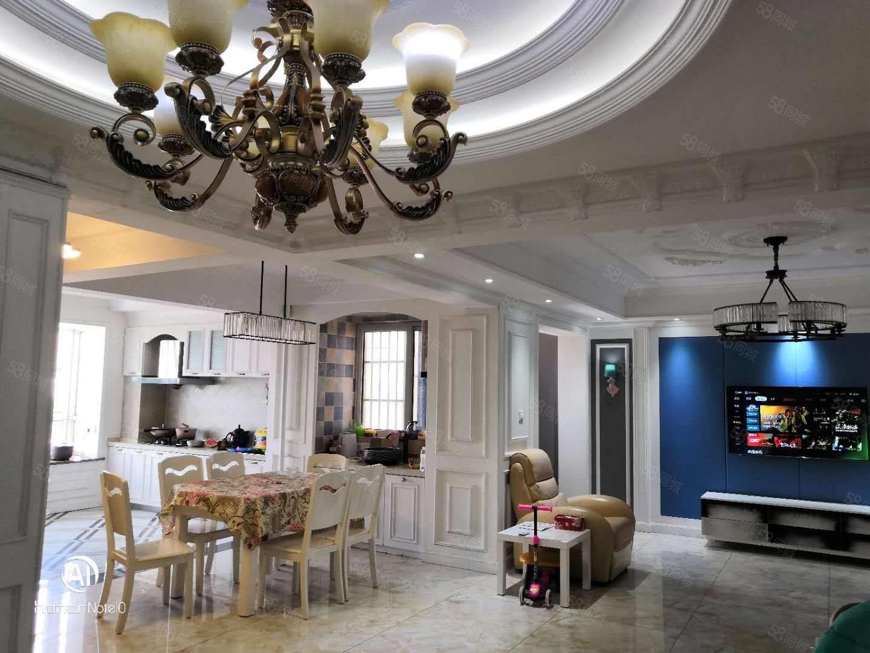 人们广场北银座帝景苑139平3室2厅2卫豪华装修,低于市场价