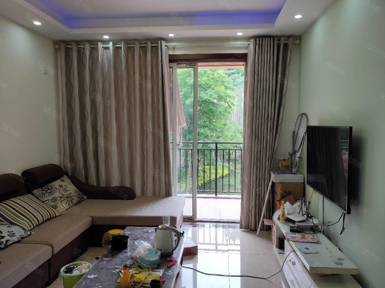 鹤鸣花苑精装2室2厅带阳台学区房68m总价43.8