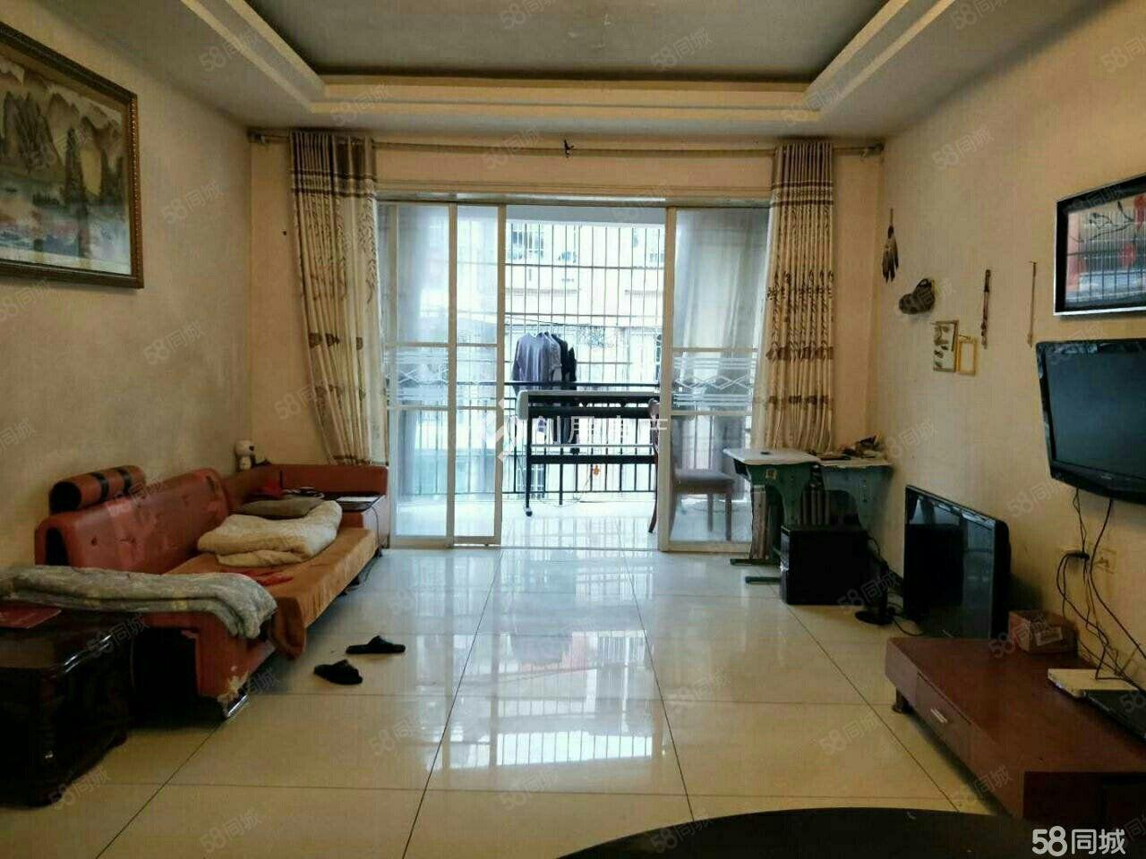 三室两厅一厨一卫户型正方采光非常好