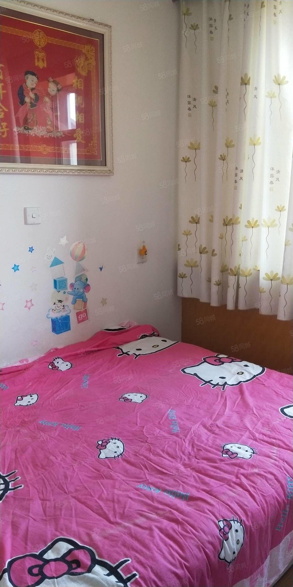 河康小区50型一楼带院年租7000元家具家电齐全房屋干净整洁