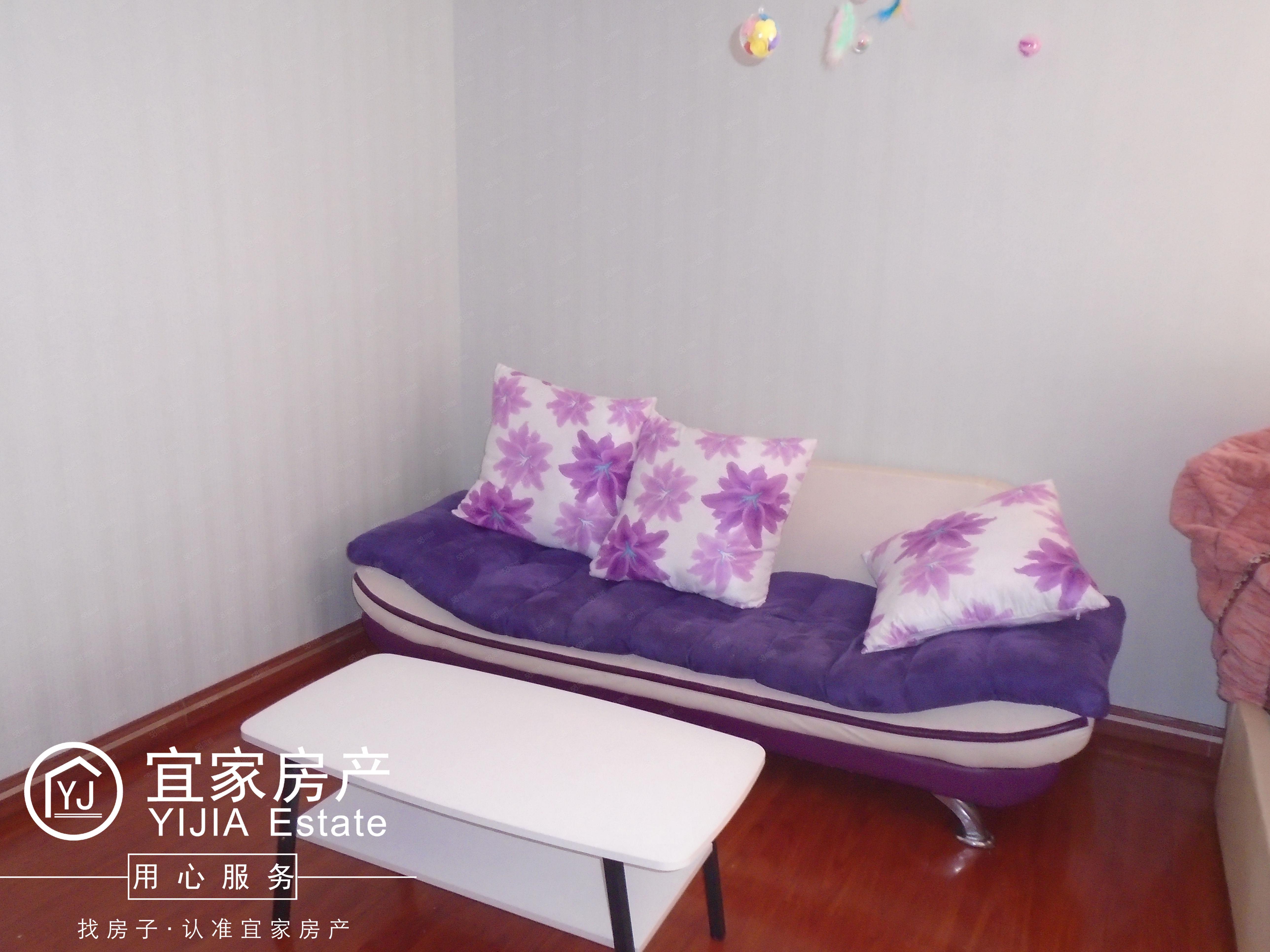 时代广场,1室1厅1厨1卫,单身公寓,精装修,带全套家电家具