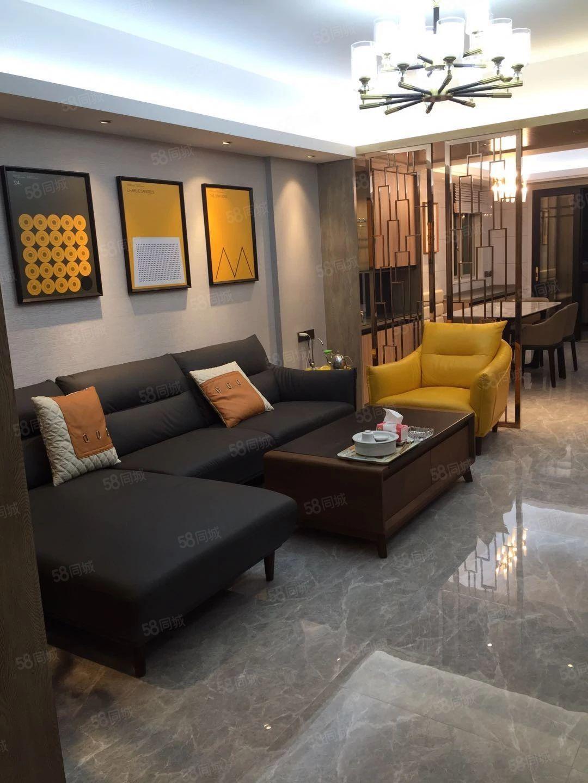 南国明珠二期5楼137平方3房2厅全新装修未入住售150万