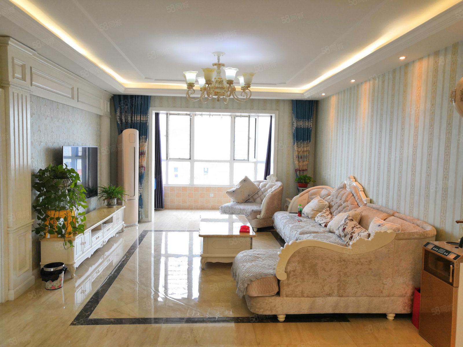 悅鑫花苑3室精裝可按揭貸款高層拎包入住基本很少住