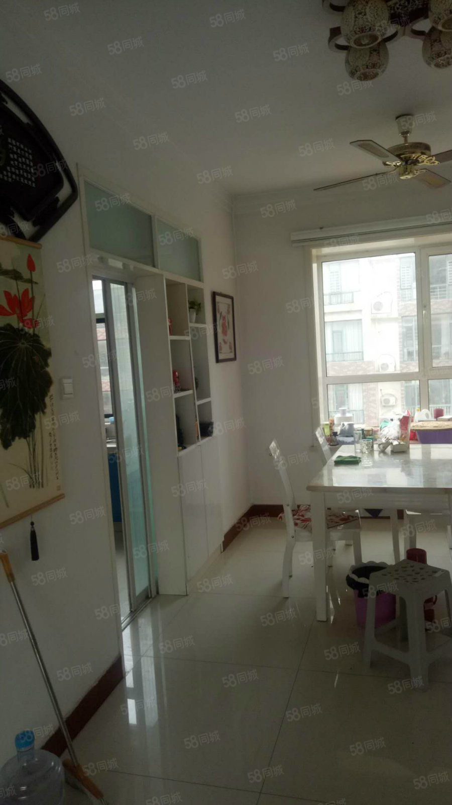 河安小区冬瑞园4楼128平精装修带大车库