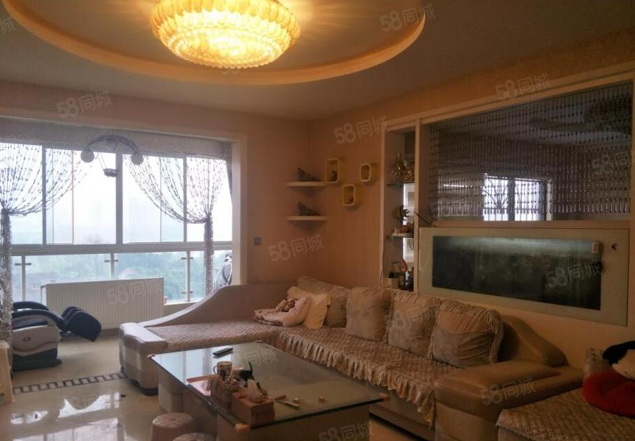 凯丽滨江带空调地暖豪装三房家具家电齐全拎包即住