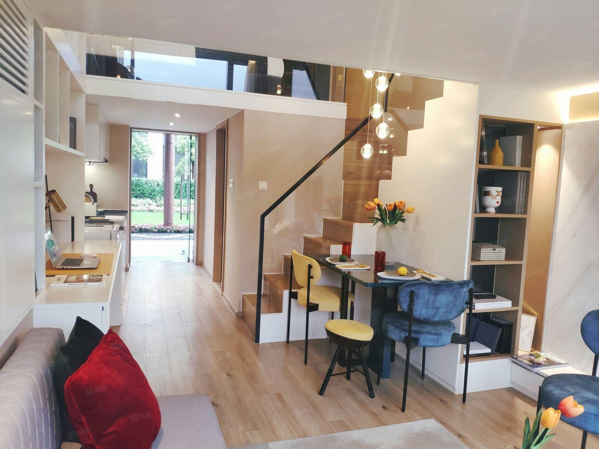 銀湖科技城地鐵口200米精裝修復式公寓價60萬起租金五千