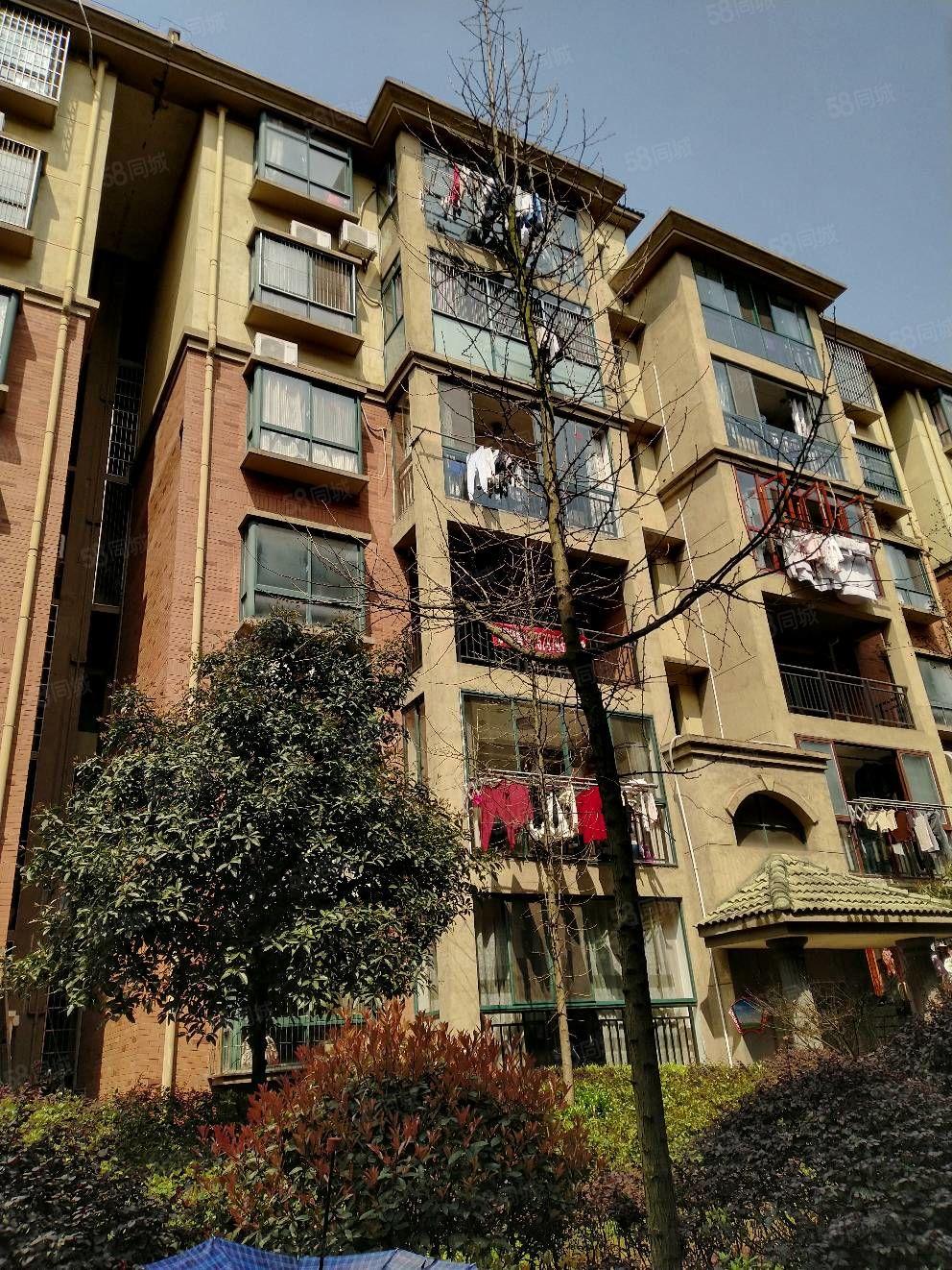 御景园少见的带阳台精装公寓