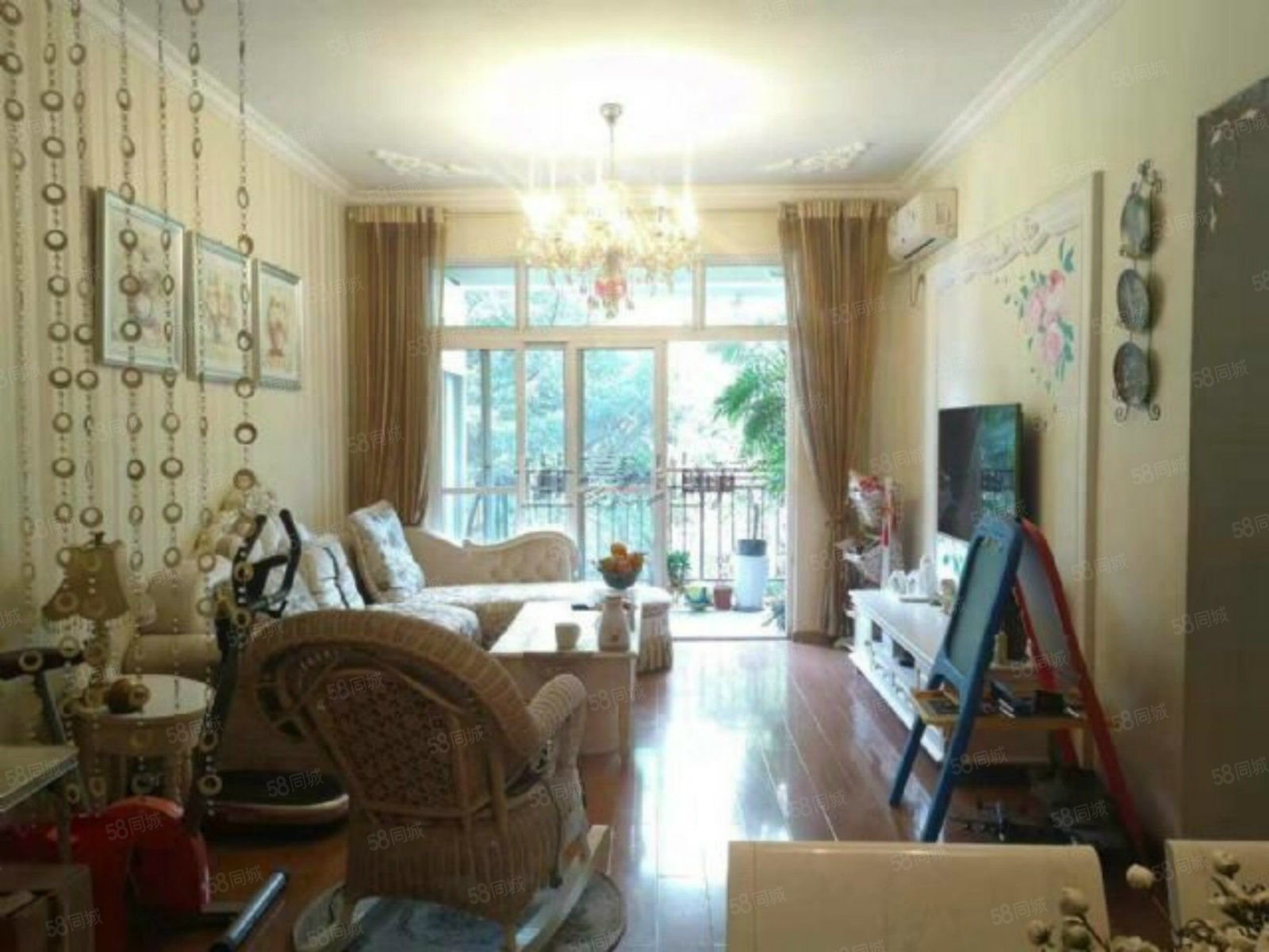 南岸西区,林中漫步,精装2室,全中庭,家电家具齐全,出行方便