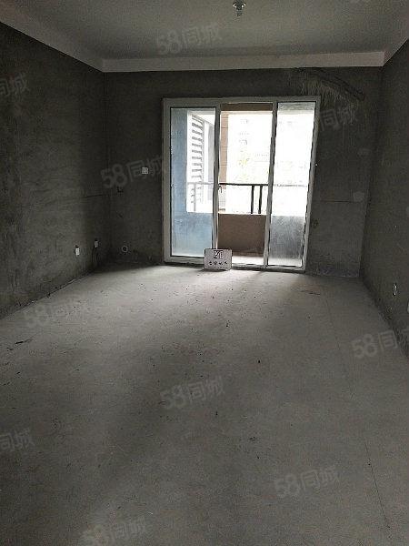 急售豪泽丽景116平毛坯大三室两厅两卫看房有钥匙