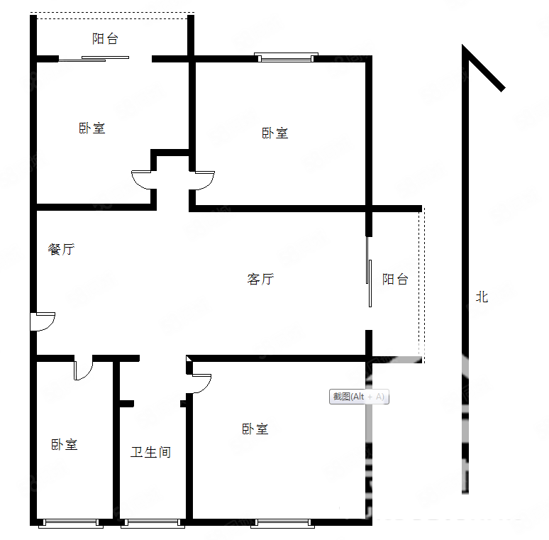 七彩城超好户型采光无敌一手房单价特别便宜随时看房
