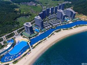 国家5A滨海大城,一线海景精装公寓首付18万起