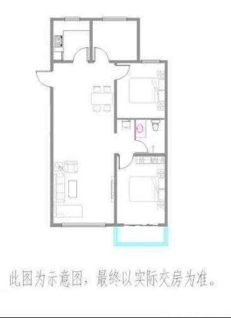 3室2�d1�l108平米