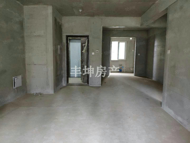 城西金泰滨江花城花园洋房,南北通透,电梯毛坯3房,可按揭