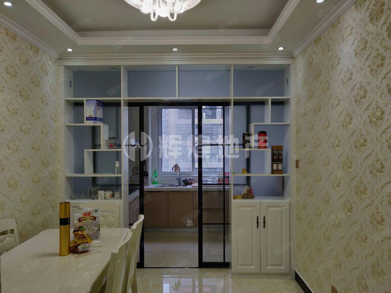 巴黎左岸精装修3室131.5平米有证税满家私赠送