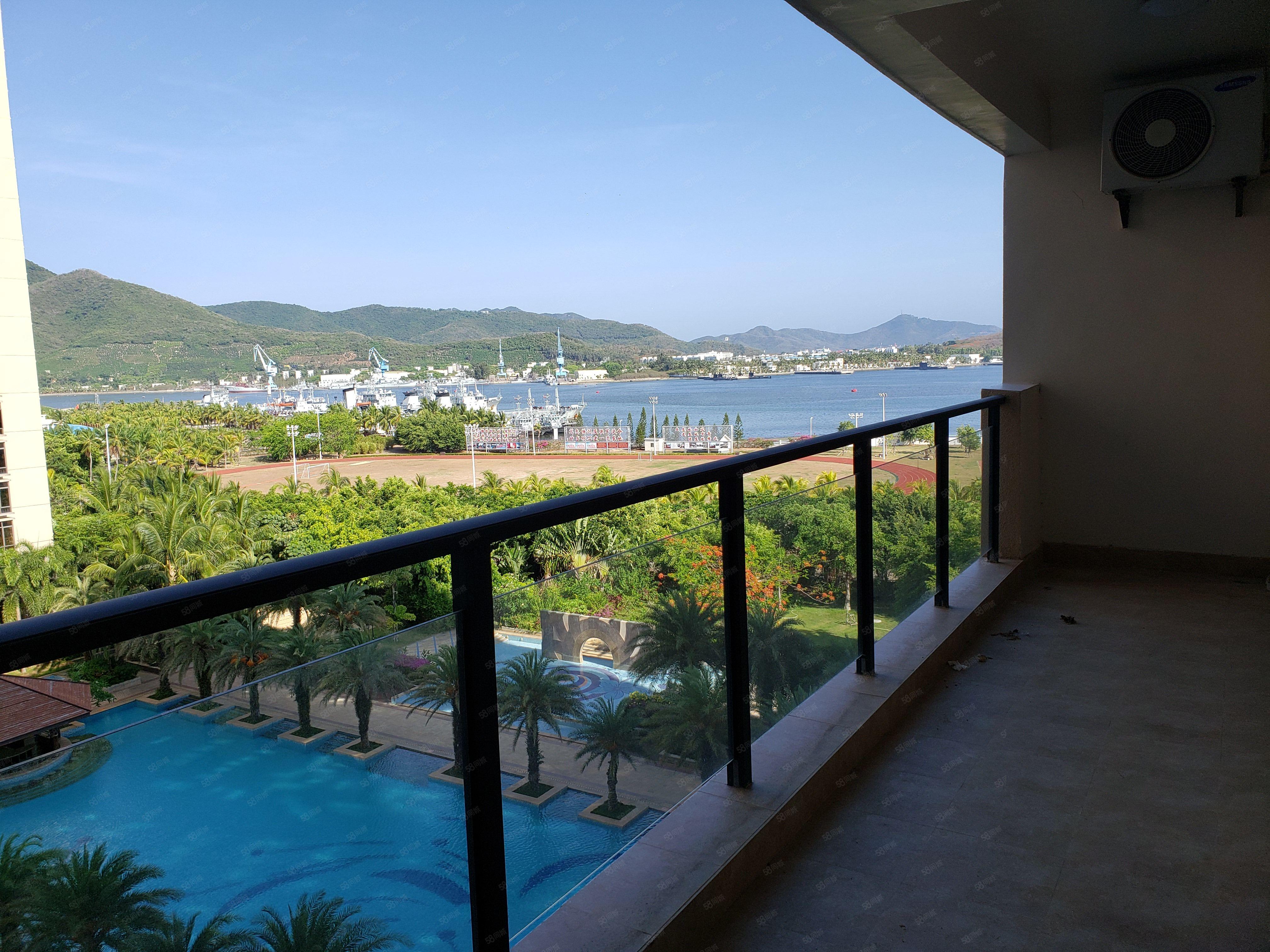 急售!大东海一线海景房 双阳台看海 户型方正 成熟地段