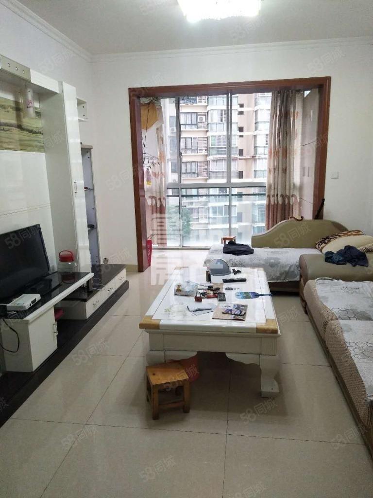 龙腾御锦2室中装家具家电齐全拎包入住1300/月