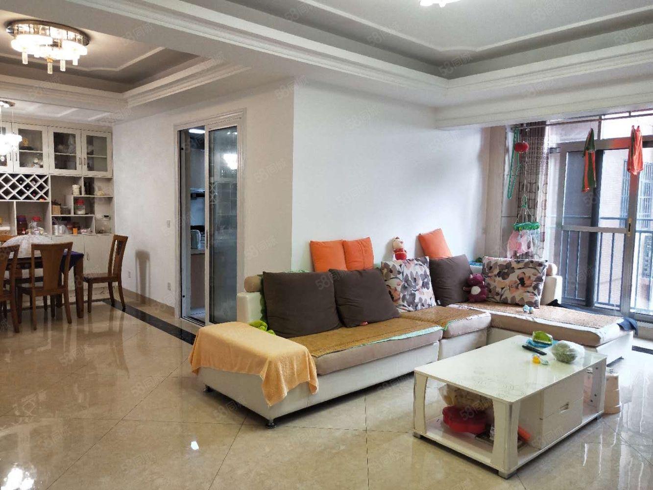 中間樓層豪華裝修全屋中央空調超面積使用